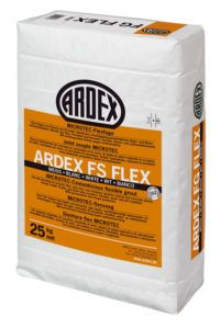 Mortero flexible para junta de 1 a 6 mm ARDEX FS FLEX