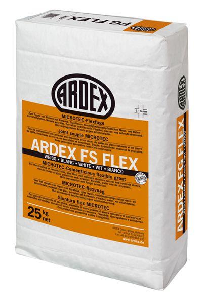 Mortero flexible para junta de 1 a 6 mm ARDEX FS FLEX