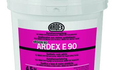 Aditivo para mejorar las propiedades de los adhesivos cementosos ardex ARDEX E90