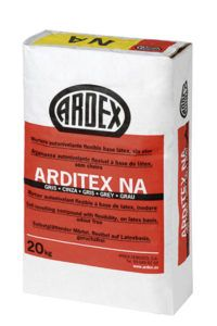 Mortero autonivelante flexible ARDITEX NA