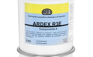 Imprimación epóxica tolerante a la humedad ARDEX R3E
