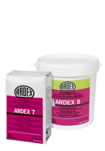 Adhesivo super flexible especial para gres porcelánico ARDEX 7+8