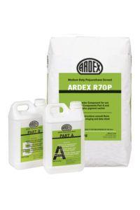 Mortero de poliuretano de alta resistencia ARDEX R70P