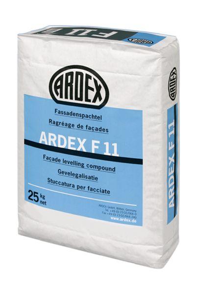 Mortero para la renovación de fachadas ARDEX F11